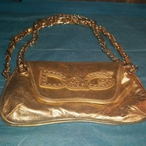 D&G small gold handbag AUTHENTIC